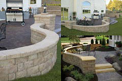 Anchor Highland Stone® Free Standing Wall